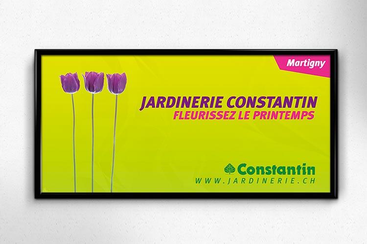 Affiche Jardinerie Constantin