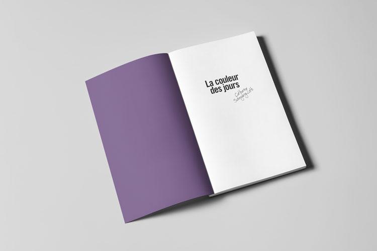 Livre » La couleur des jours»