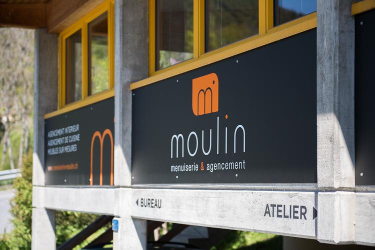 Facade «Menuiserie Moulin»