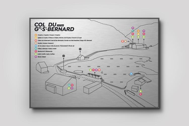 Panneaux Col Grd-St-Bernard