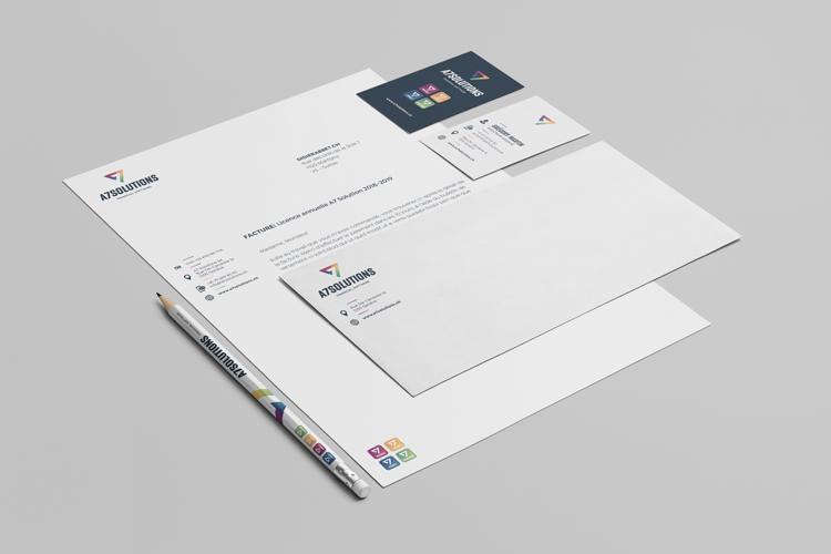 Identité visuelle «A7 Solutions»