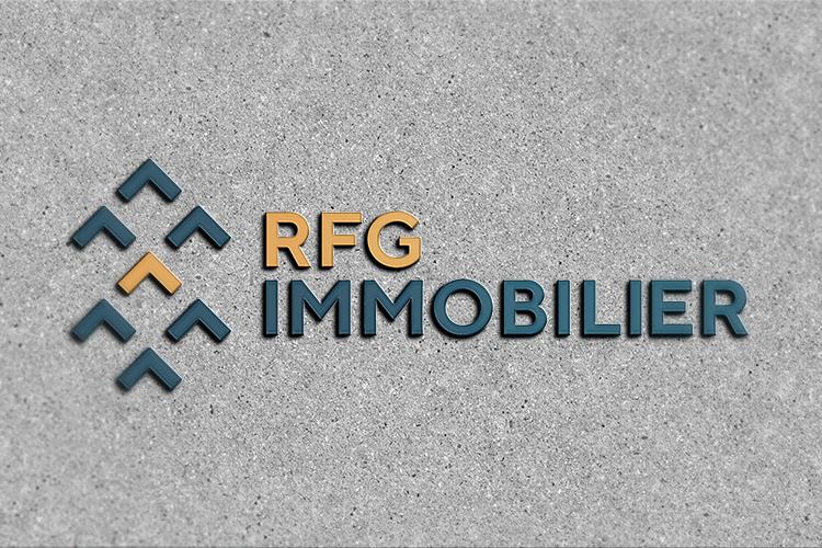 Identité visuelle «RFG Immobilier»